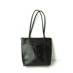 Hobo International Black Leather Shoulder Bag Tote
